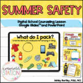 Summer Safety Digital Lesson for PowerPoint and Google Slides™