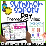 Digital End of School Year Activities • Summer Safety Digital Activities