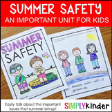 Summer Activities - Summer Safety Book