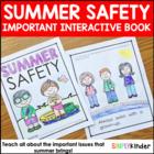 Summer Activities - Summer Safety Book