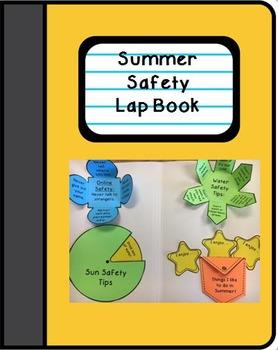 Summer Safety Lap Book Interactive Notebook