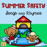 Summer Safety: Fun Mini-booklet, Posters, Vocabulary Cards