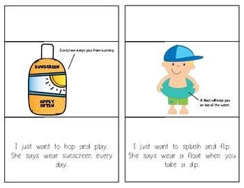 Summer Safety Reader for Kindergarten and First Grade Social Studies