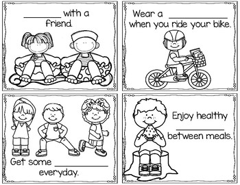 Summer Safety Rules and Fun Summer Activities: A Coloring Book
