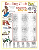 Summer Safety Vocabulary Word Search Puzzle