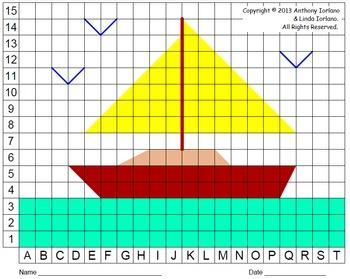 Summer Sailboat (Color Grid)