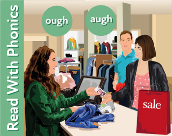 Summer Sales: Learn The Phonic Sound ough (rough) Learn To Read With Phonics