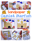 Summer Sandpaper Castle & Starfish Activities