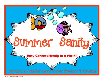 Summer Centers