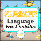 Summer Language Scene Speech Therapy