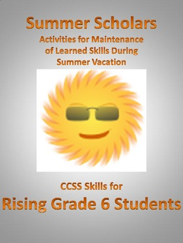 Summer Scholars: rising 6th Graders