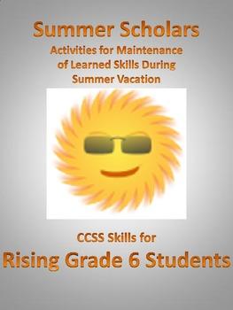 Summer Scholars: rising 6th Graders