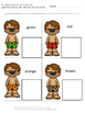 Summer Beach Color Match  Printables for Centers Special Education