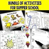 ESY Activities   Kindergarten Summer Packet