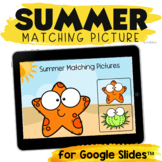Summer School Activities for Google Slides™ : Picture Matching