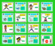 Summer School Addition:  PowerPoint Game!  48 Addition Facts 11-20 Ocean Theme