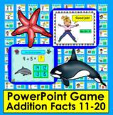 Summer School Addition:  PowerPoint Game!  48 Addition Fac