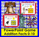 Summer School Addition:  PowerPoint Game!  56 Addition Fac