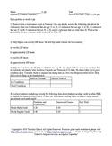 Summer School Algebra II Semester I Day 15 - Final Exam Review