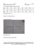 Summer School Algebra II Semester I Day 8 - Quiz
