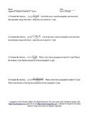 Summer School Algebra II Semester II Day 8 - Quiz 2