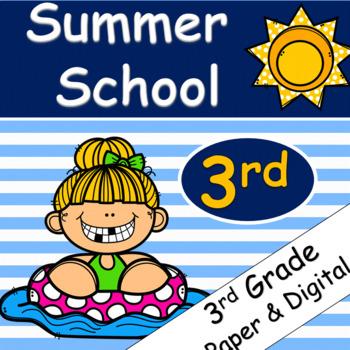 Summer School Bundle Grades 3 & 4