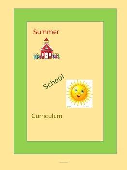 Summer School Curriculum