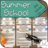 Summer School Curriculum (Incoming 2nd Graders)