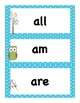 Back to School Curriculum:  Packet 3  Primer Sight Words with Pre and Post