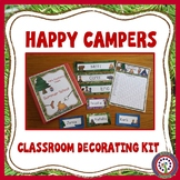 Camping Theme - Decorate Your Classroom Kit - Name and Des