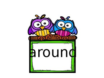 Summer School: Dolch Second Grade  Sight Words Timed Assessment