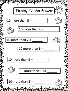 Summer School First Grade Math Review