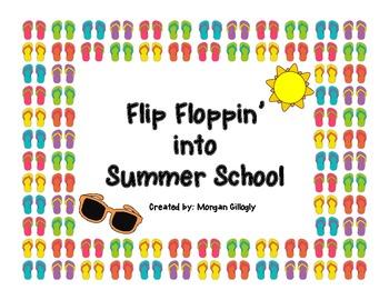 Summer School Ice Breaker / Flip Flops