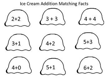 Summer School Ice Cream Theme Unit
