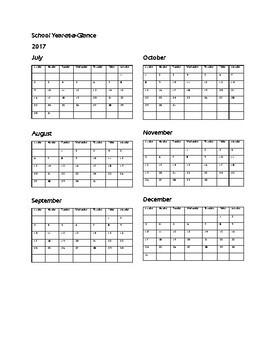 Summer School Lesson Planner