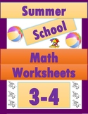 Summer School Math 3-4