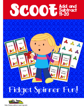 Fidget Spinner Scoot Math Game