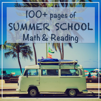 Summer School Math and Reading Bundle