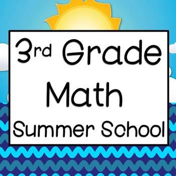 Summer School Math for Third Grade