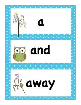 Summer School Packet 2 Curriculum:  Pre Primer Sight words with Pre and Post