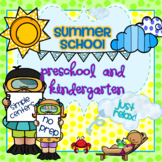 Summer School Preschool and Kindergaten