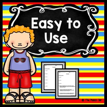 Summer School Resources - 3rd Grade Math