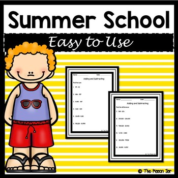 Summer School Resources - 4th Grade Math
