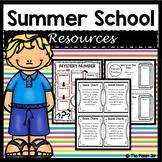 Summer School Resources - 5th Grade Math