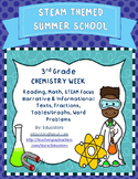 Summer School STEM Themed Chemistry Week Reading & Math 3rd-4th Grade