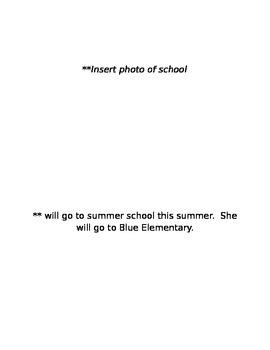 Summer School Social Story