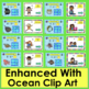 Summer School Subtraction:  66 Facts to 10 PowerPoint Game!  Ocean Theme