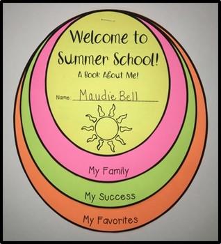 Summer School Welcome Activities