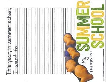 Summer School Writing