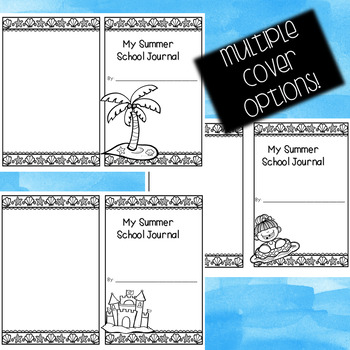 Summer School Writing Journal